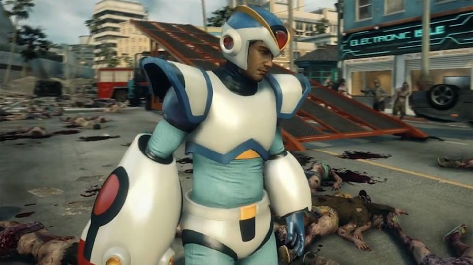Dead Rising 3 Megaman X Suit