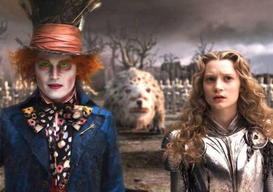 Johnny Depp Alice aux pays des merveilles