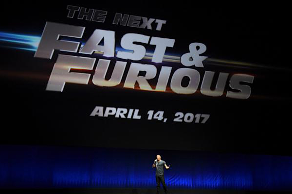 fast and furious 8 confirm pour 2017. Black Bedroom Furniture Sets. Home Design Ideas