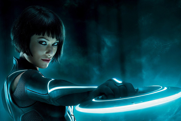 Olivia wilde dans Tron Legacy