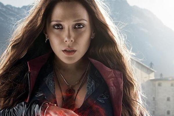 Elizabeth Olsen dans Avengers: l'Ere d'Ultron