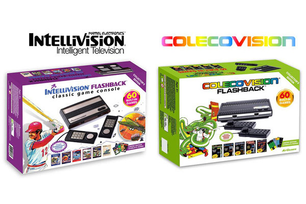 Flashback Colecovision et Flashback Intellivision