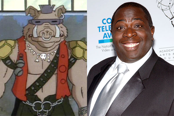 Gary Anthony Williams (Bebop) dans Ninja Turtles 2