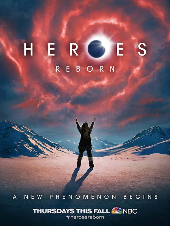 Heroes Reborn Poster