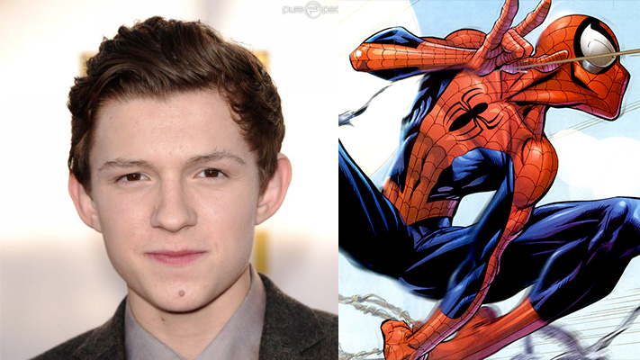 Tom Holland/Spiderman