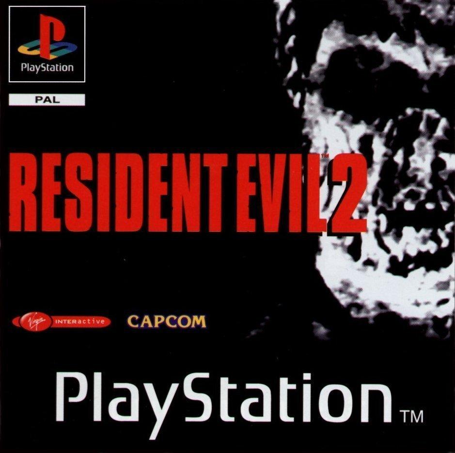 Resident Evil 2 PS1 Cover