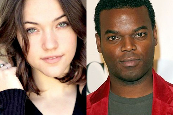 Violett Beane et Demore Barnes (The Flash)