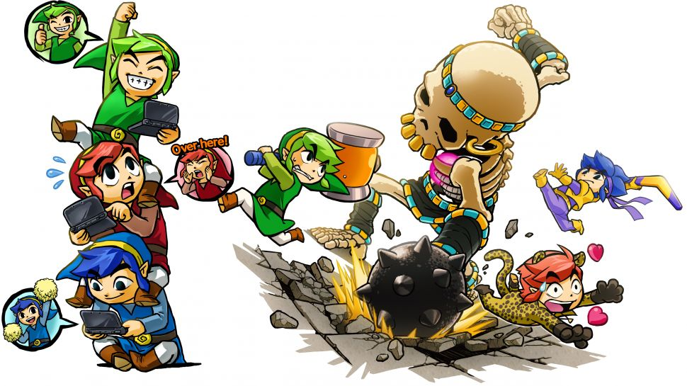 The Legend of Zelda Tri Force Heroes