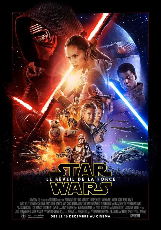Star Wars - Le réveil de la force Affiche