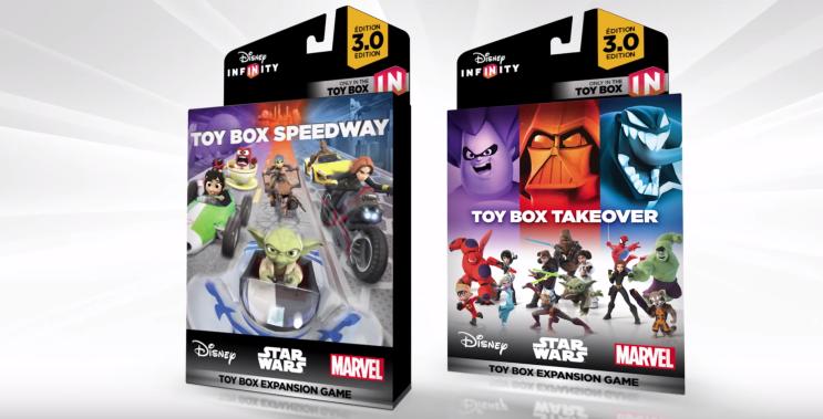 Disney Infinity 3.0 Toy Box Expantion