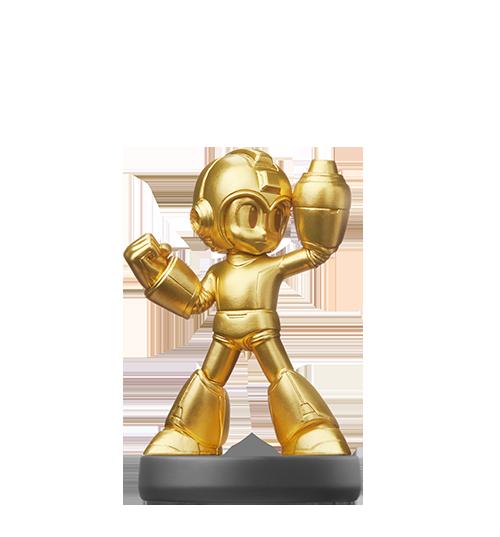 Amiibo Gold Mega Man