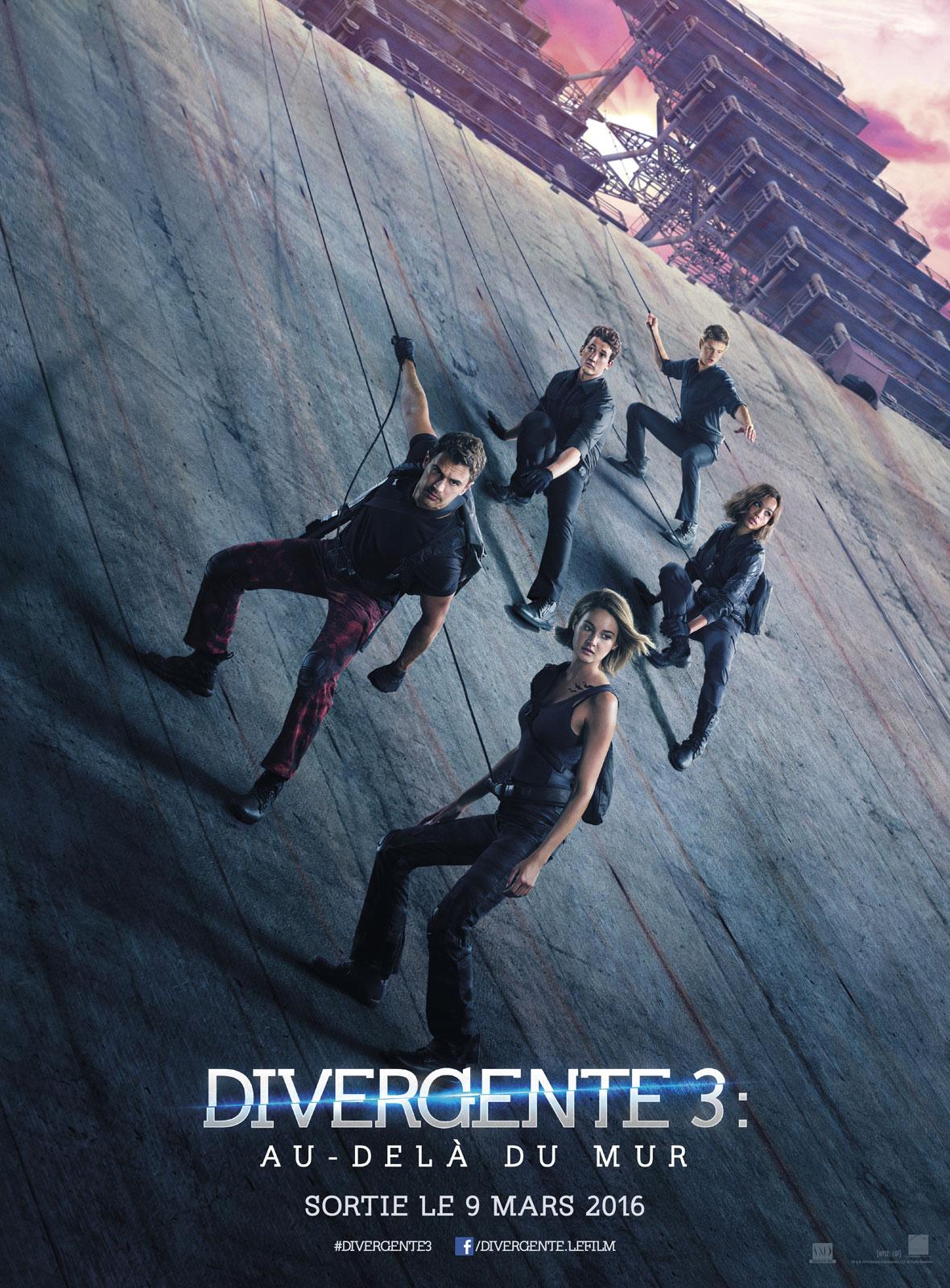 Divergente 3 au-delà du mur