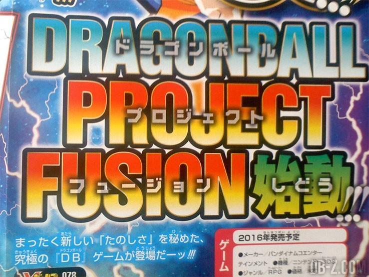 Dragon Ball Project Fusion