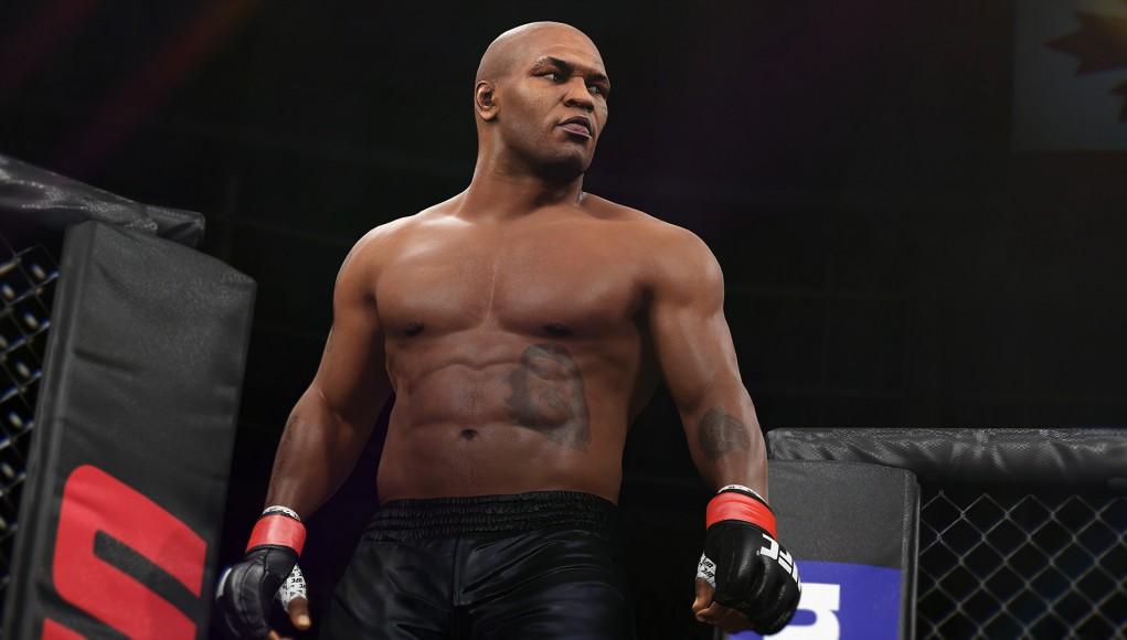 EA Sport UFC 2 (Mike Tyson)