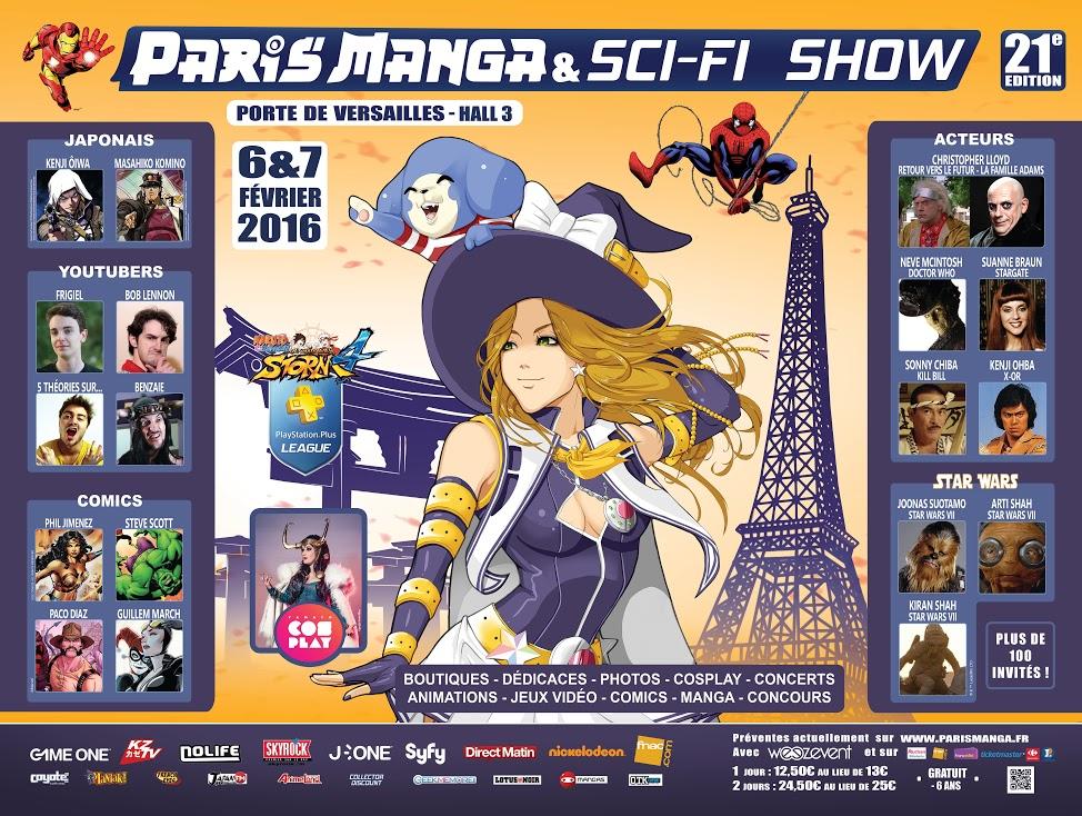 PARIS MANGA & SCI-FI SHOW 21ème édition