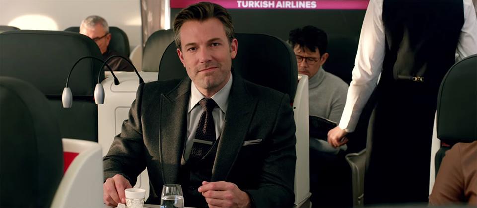 Batman V Superman spot TV Turkish Airlines Super Bowl 50