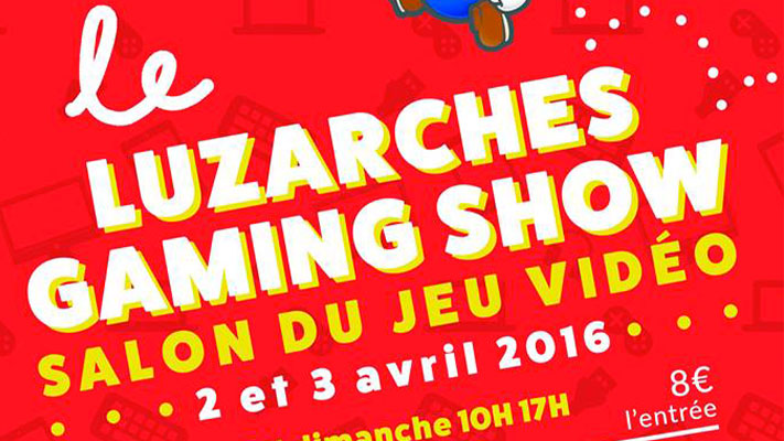 Luzarches Gaming Show Header