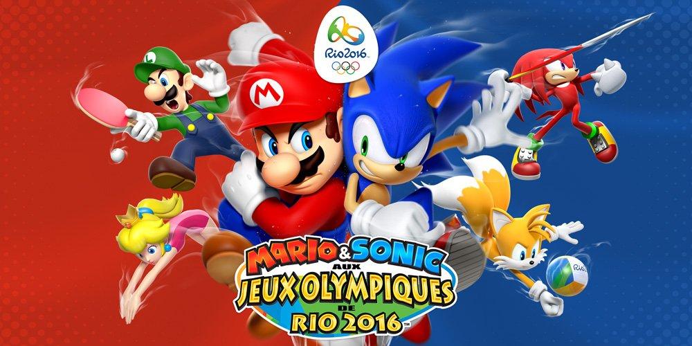 Mario and Sonic aux Jeux Olympiques de Rio 2016