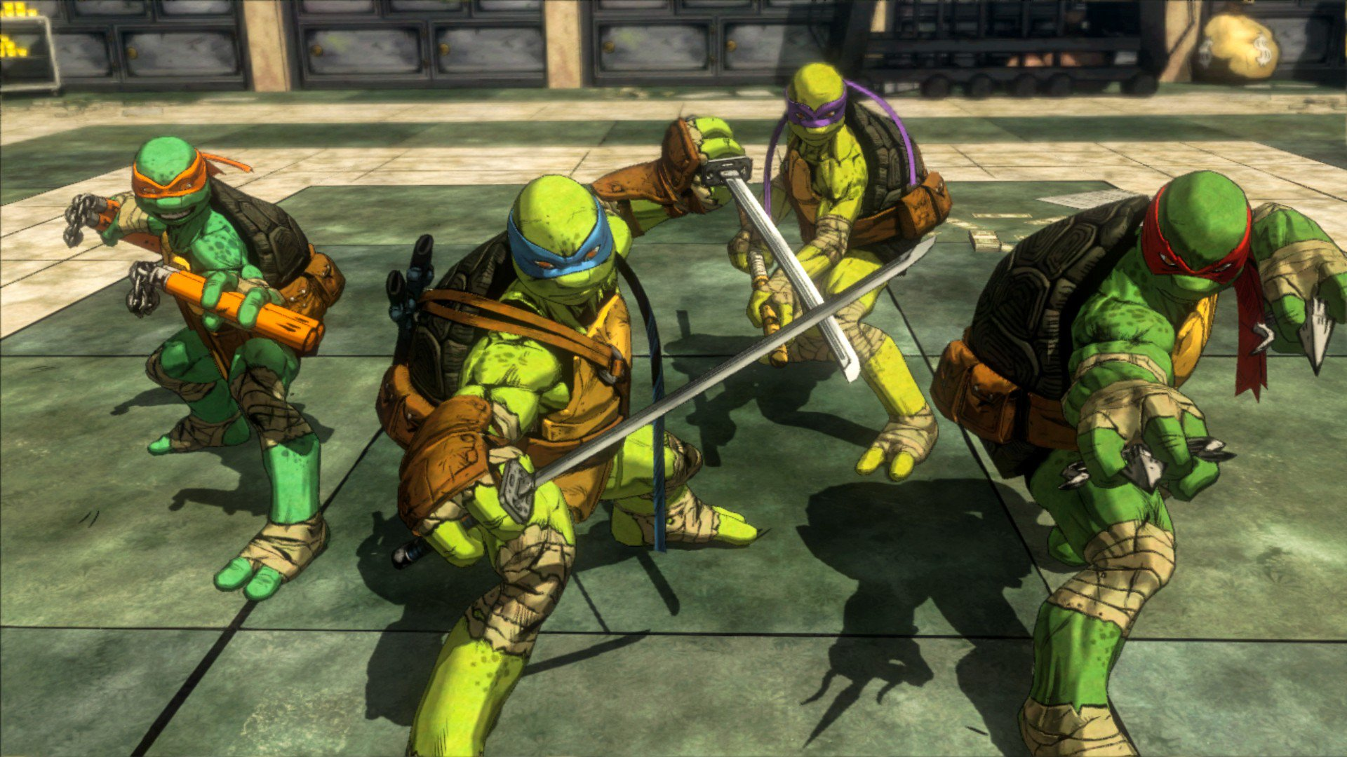 Teenage Mutant Ninja Turtle Mutants in Manhattan TMNT