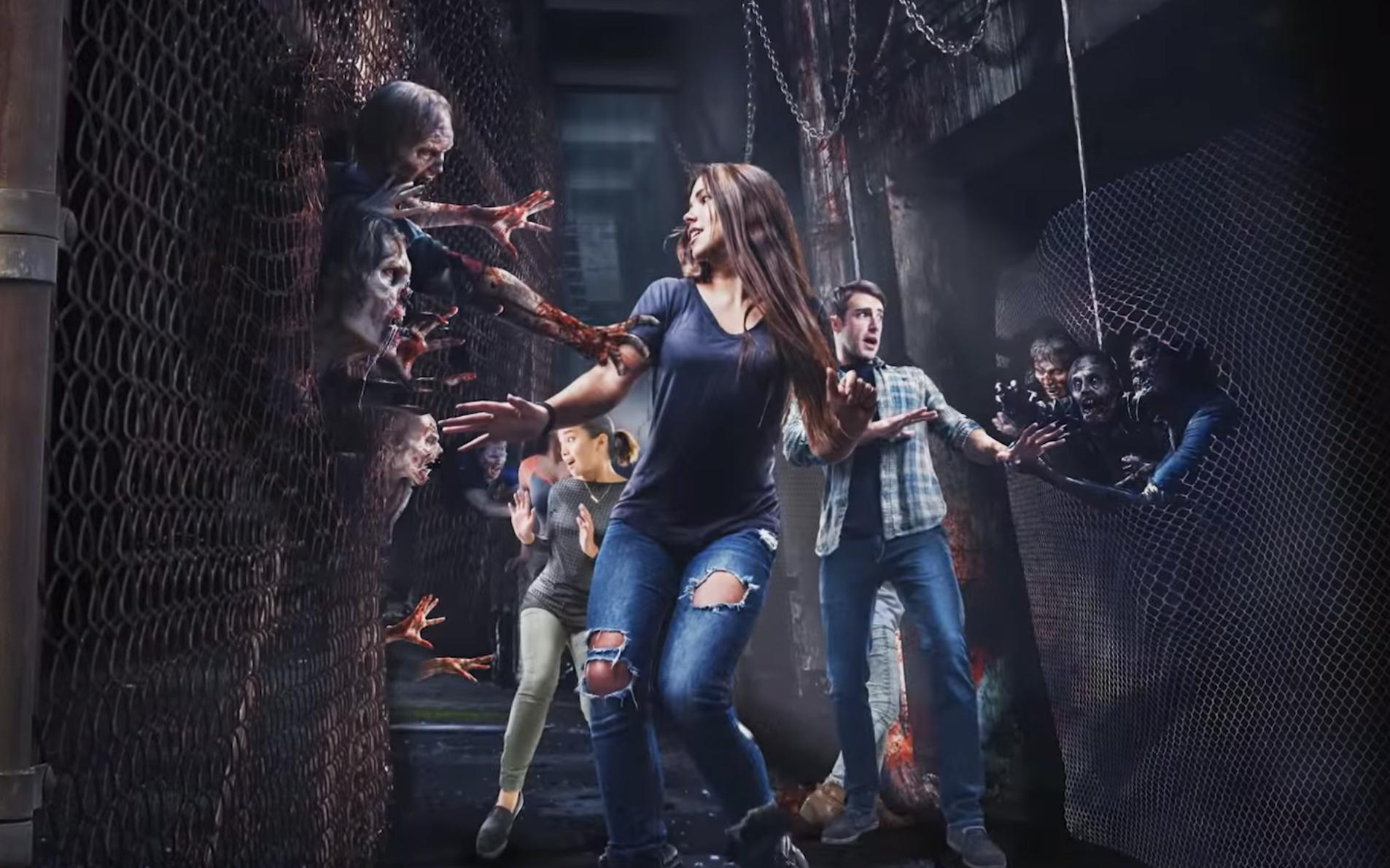 The Walking Dead Universal Studios California
