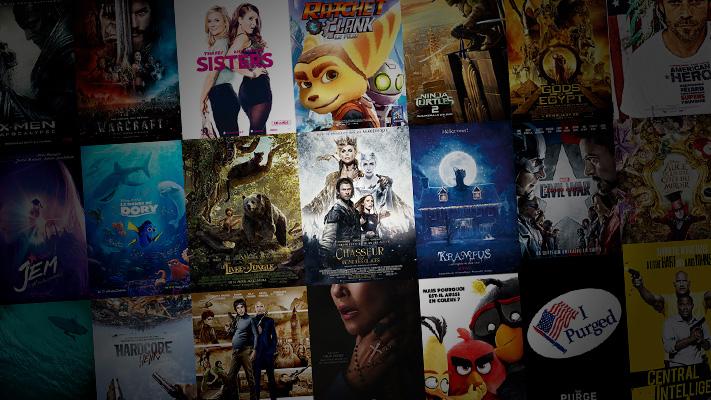 Agenda des sorties cinéma Q2 2016