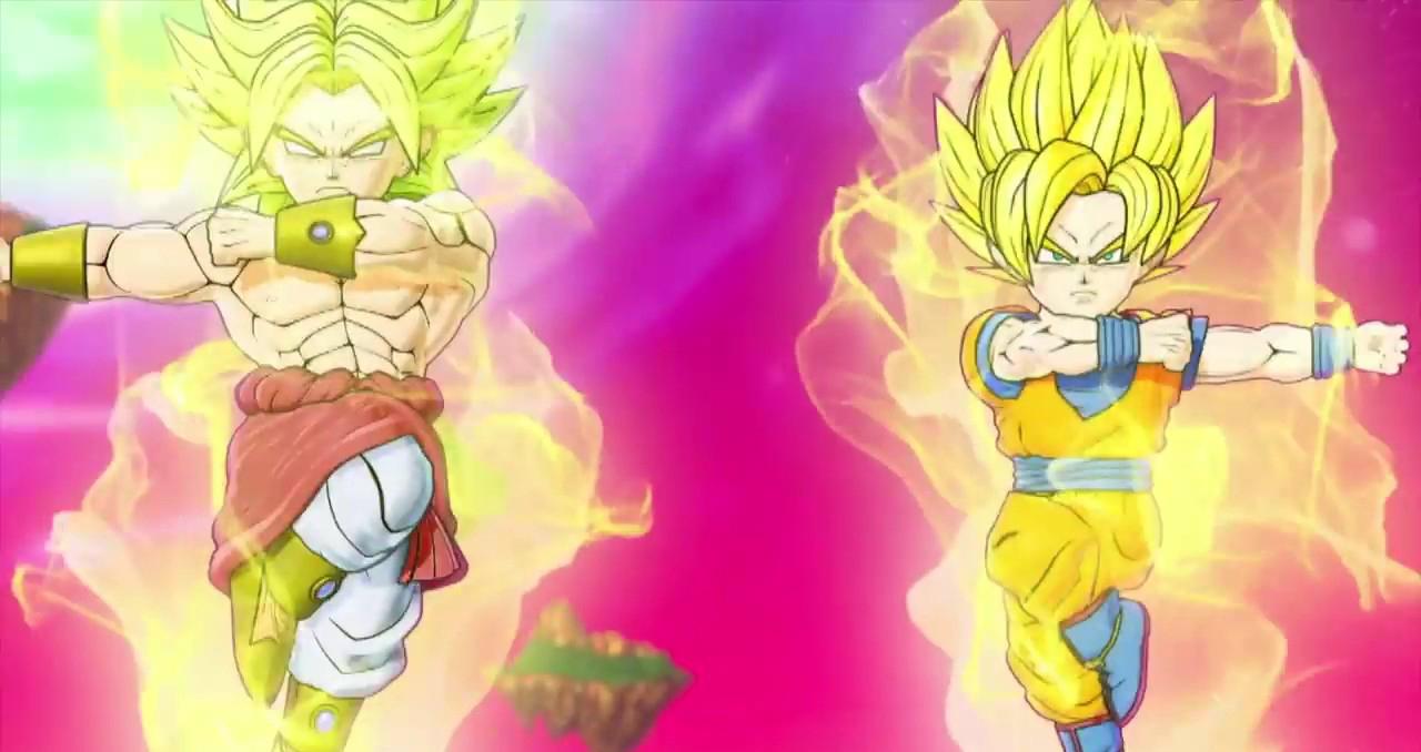 Dragon Ball Fusions 3DS Bandai Namco Trailer