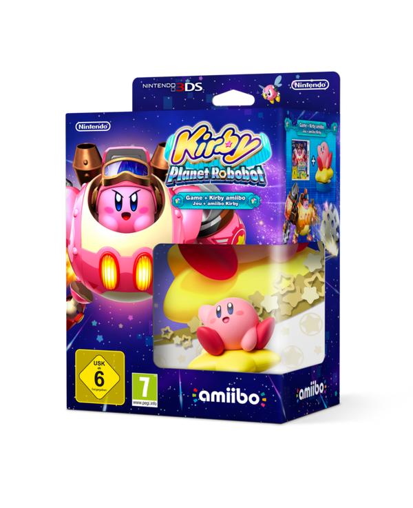 Kirby Planet Robobot Bundle Amiibo 3DS