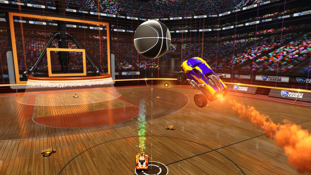 Rocket League Hoops Basketball PS4 Xbox One PC