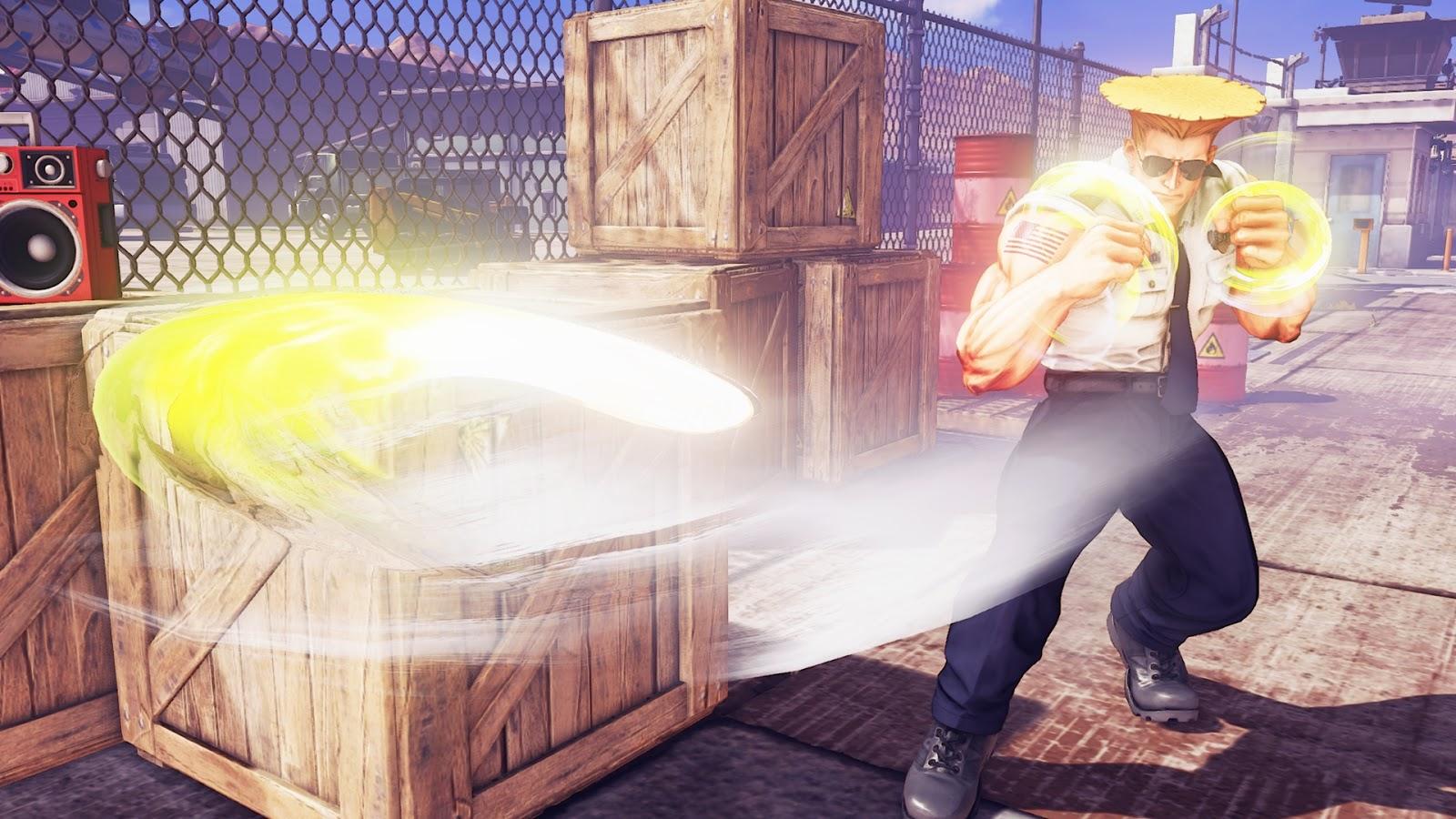Street Fighter V Guile Capcom PS4 PC