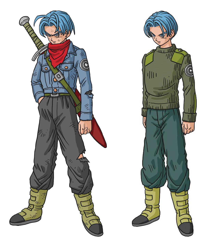 Dragon Ball Super Trunks futur