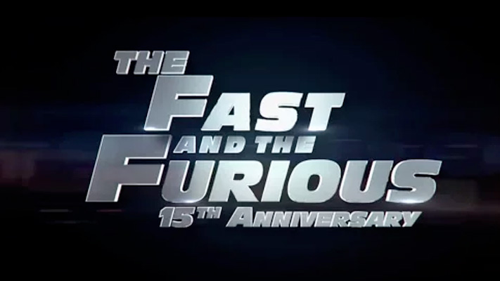 Fast and Furious 15th anniversary