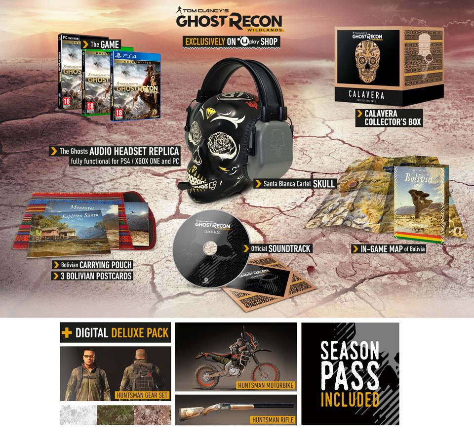 Ghost Recon Wildlands Collector