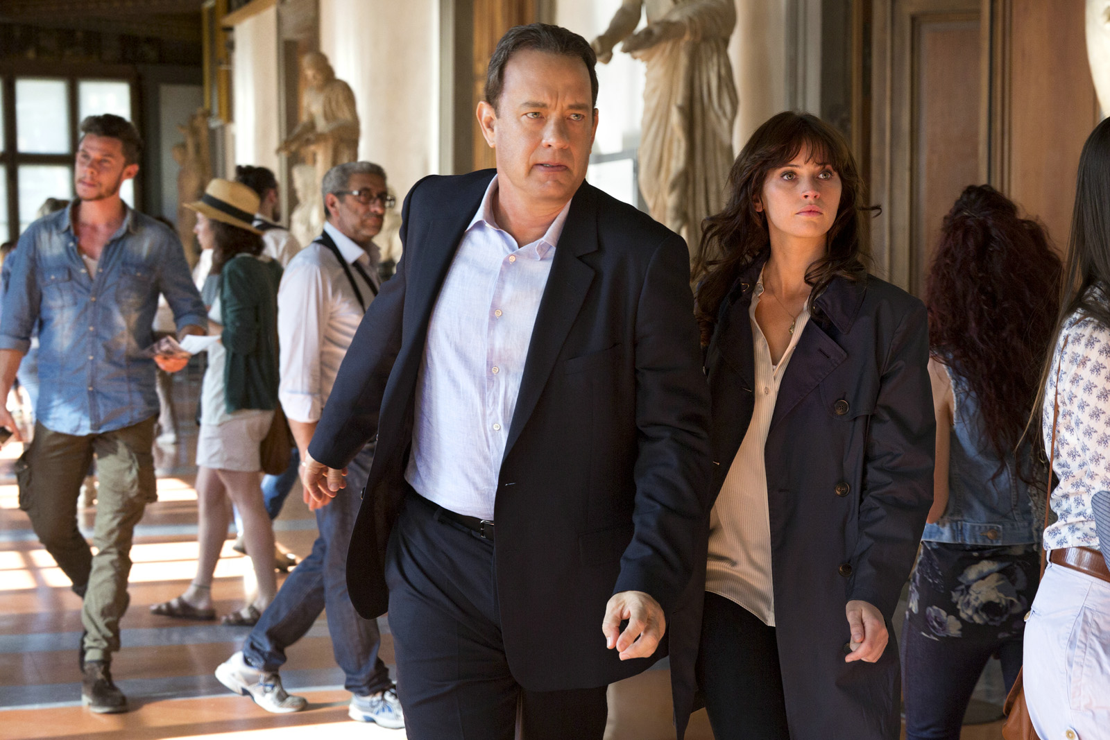 Inferno (Felicity Jones et Tom Hanks)