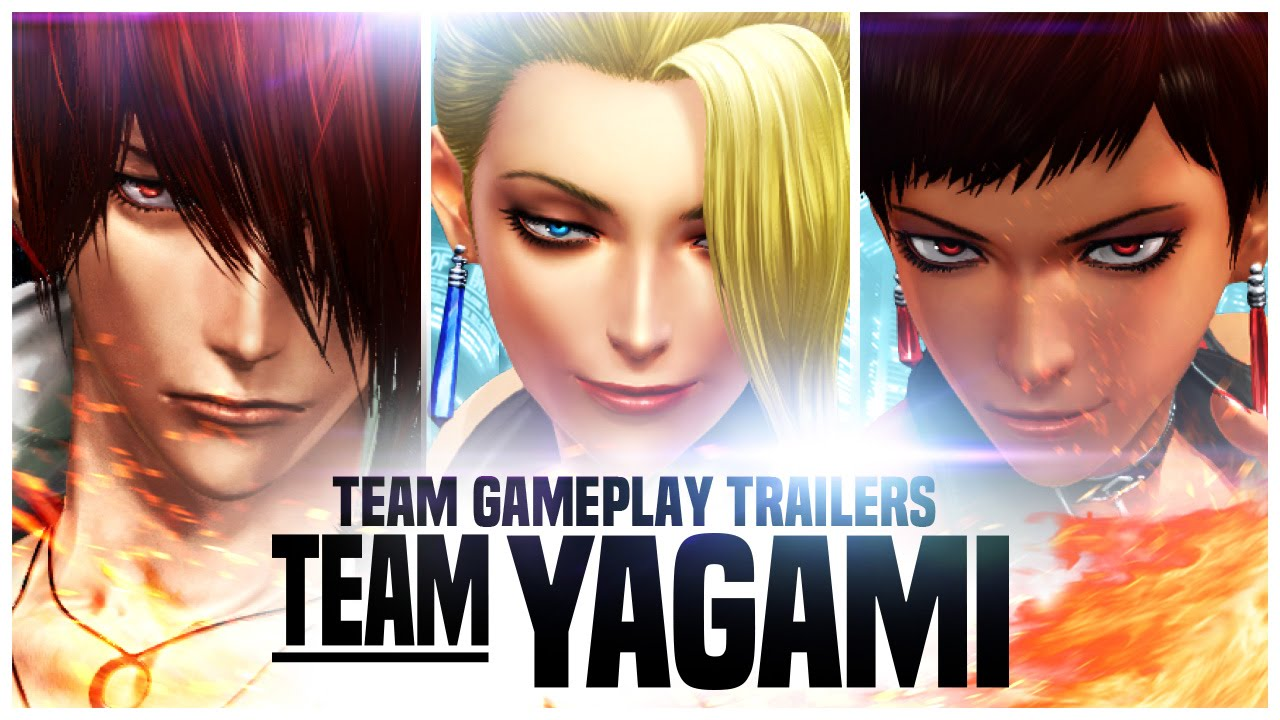 King of Fighters XIV trailer team Yagami