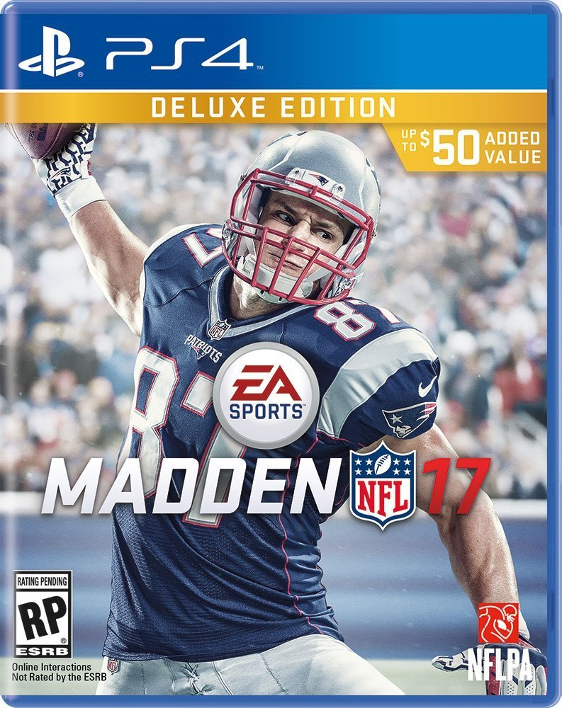 Madden NFL 17 PS4 Cover