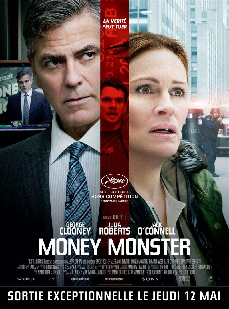 Money Monster de Jodie Foster avec George Clooney, Julia Roberts, Jack O'Connell