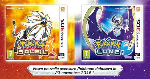 Pokémon Soleil et Pokémon Lune 3DS