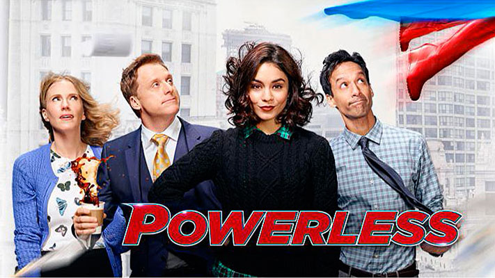 Powerless Cover NBC DC Comics