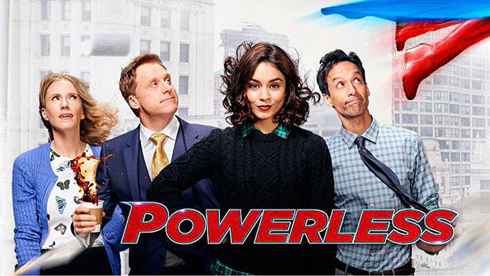 Powerless Cover NBC DC Comics