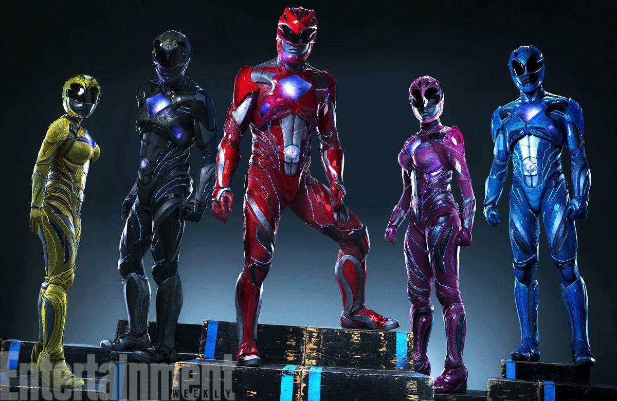 Saban's Power Rangers une première photo des Rangers en costume !