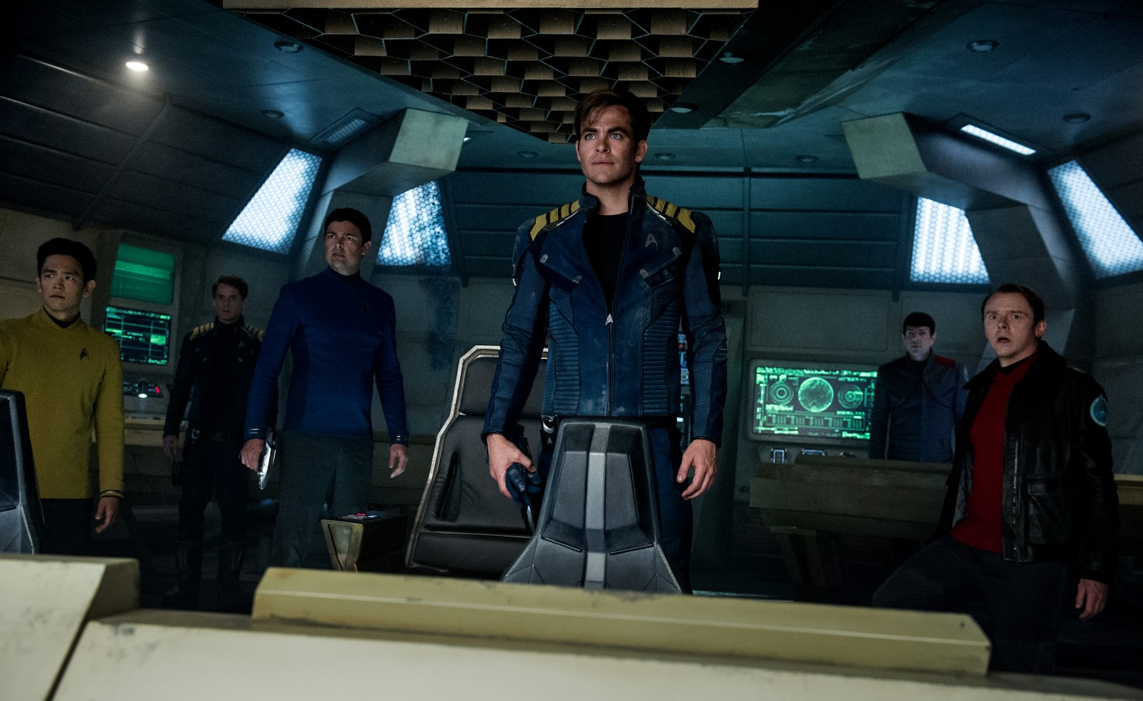 Star Trek Sans Limites (Star Trek Beyond) 2016 (Anton Yelchin, John Cho, Karl Urban, Simon Pegg, Zachary Quinto)