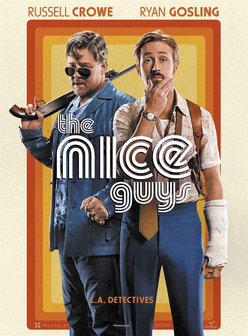 The Nice Guys de Shane Black avec Ryan Gosling, Russell Crowe, Kim Basinger