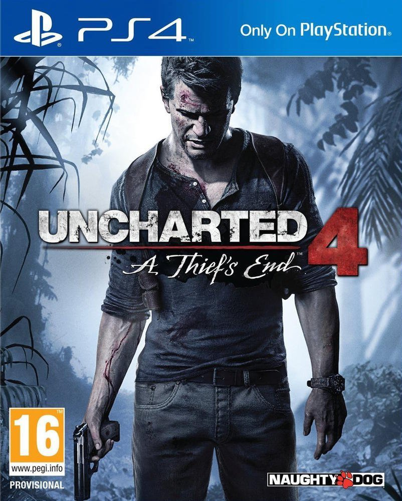 Uncharted 4: A Thief's End PS4 Naugty Dogs Sony