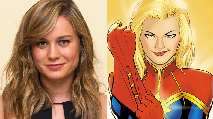 Brie Larson (Captain Marvel)