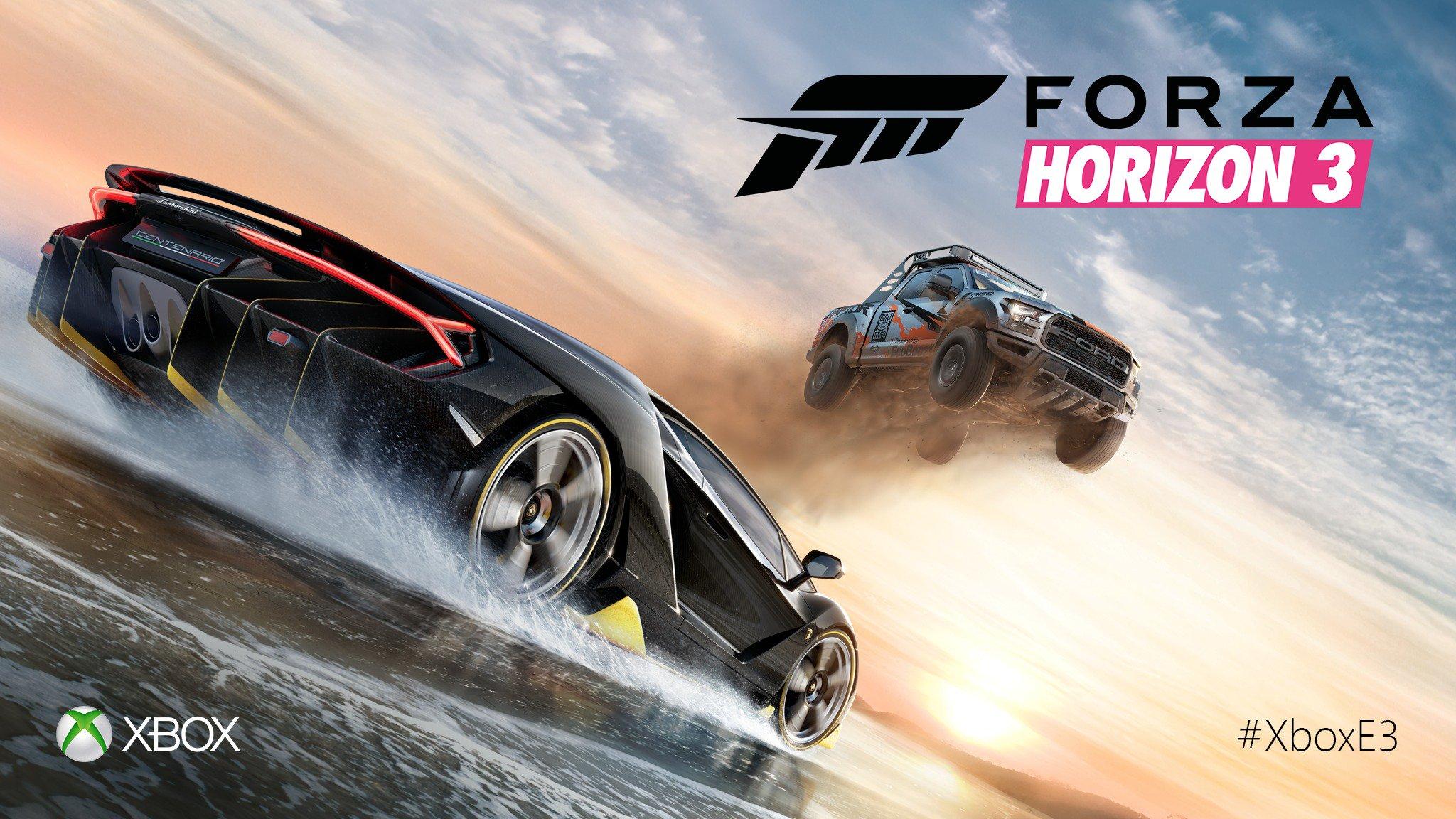 Forza Horizon 3 - E3 2016