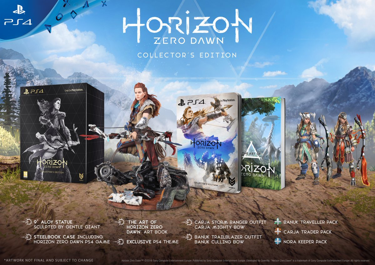 Horizon: Zero Dawn collector