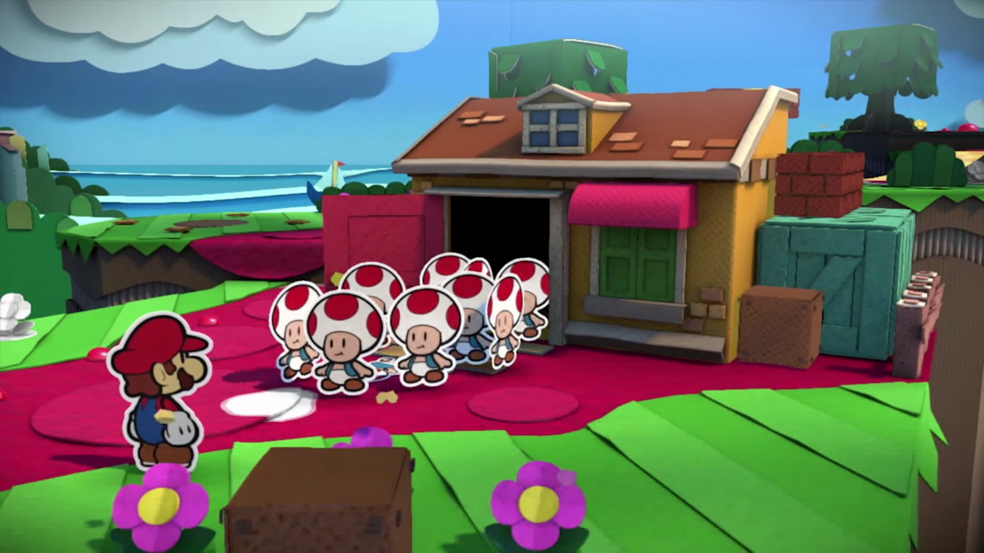 Paper Mario: Color Splash - E3 2016 - Wii U