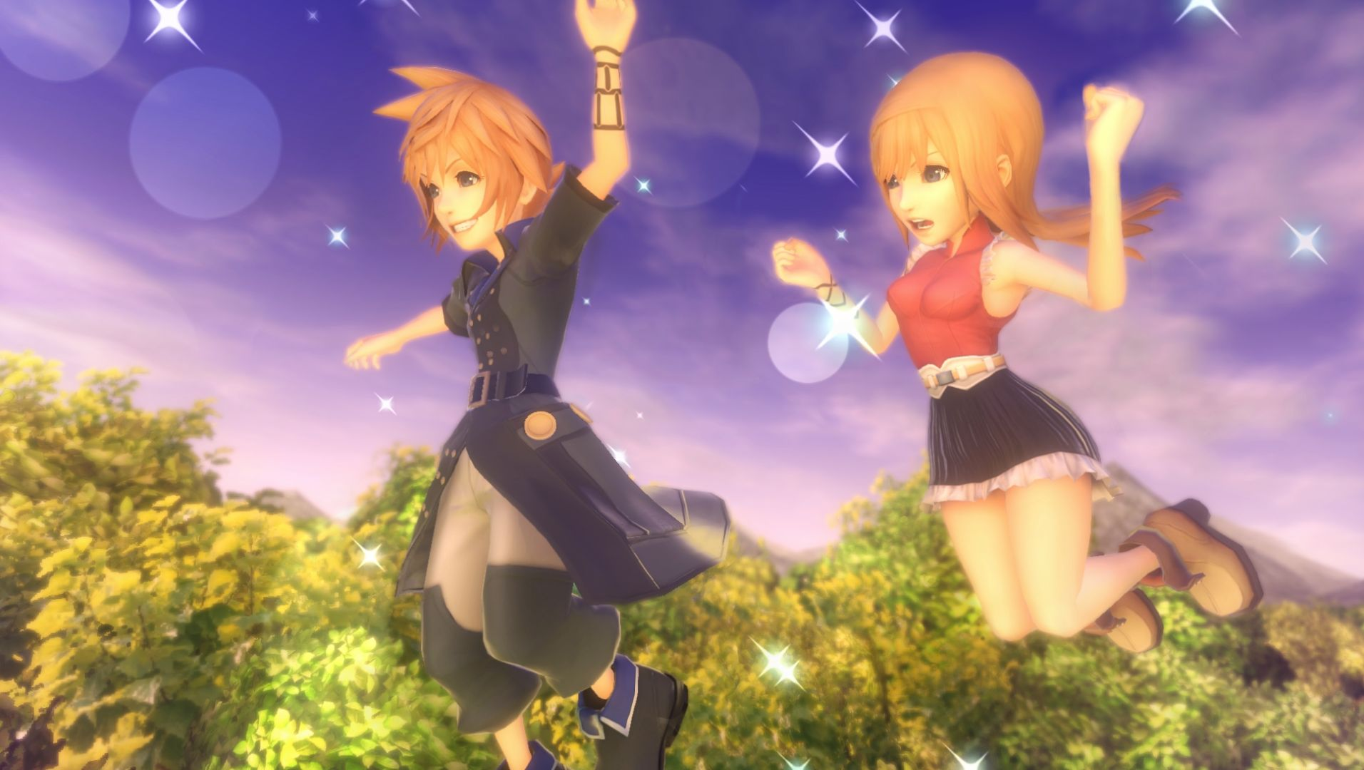 World of Final Fantasy E3 2016 PS4 PS Vita