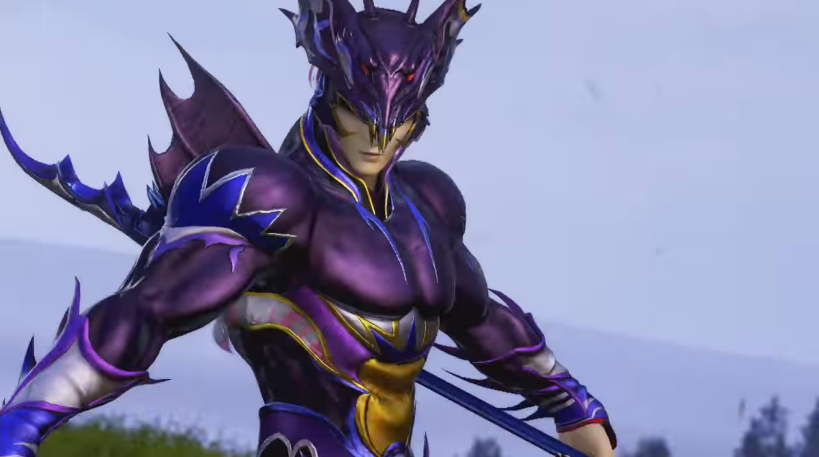 Dissidia Final Fantasy Arcade Kain Highwind