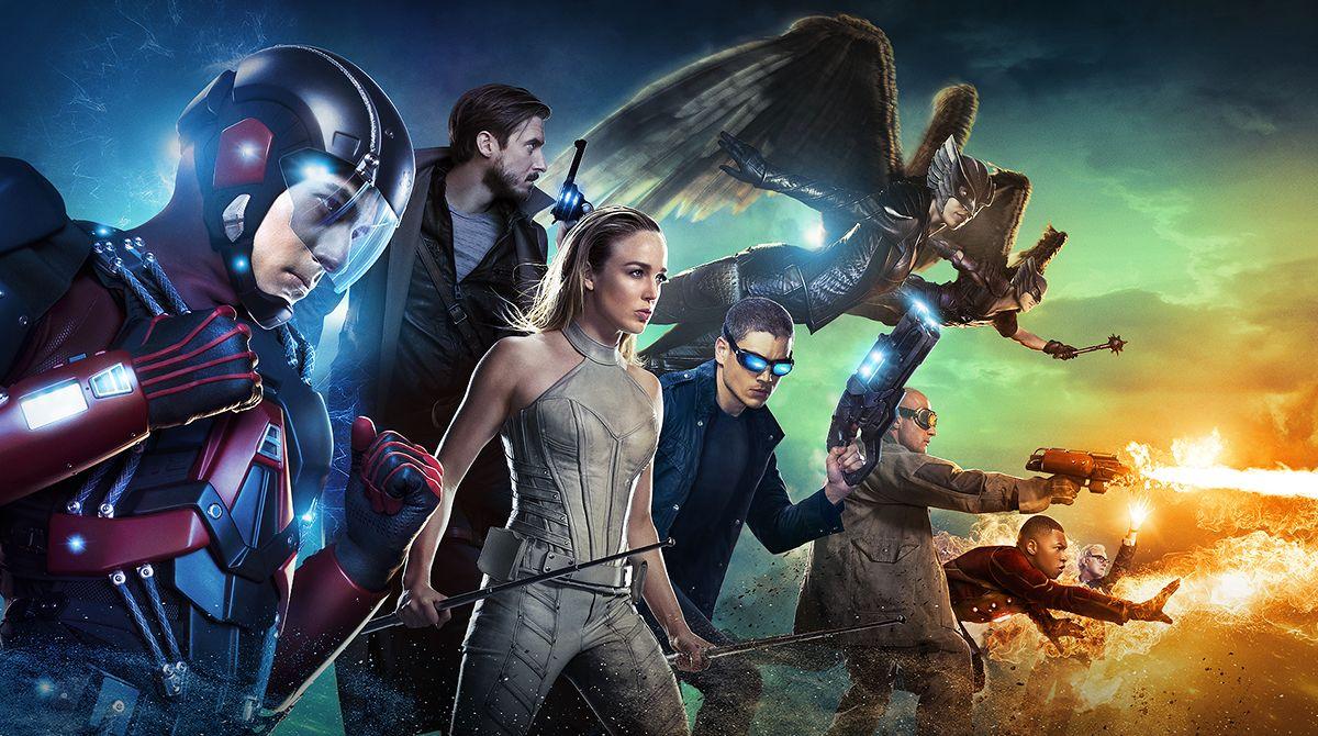 Legends of Tomorrow - Season 2 Saison 2 SDCC 2016 The CW